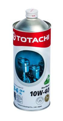 Totachi Eco Diesel Semi-Synthetic CI-4/CH-4/SL 10W-40, 1л .